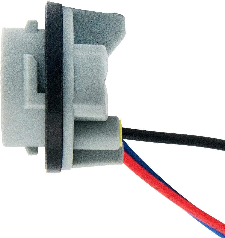 5W Adaptador Base Socket Conector Accesorios de Pl/ástico para El Coche para Luz de Freno Vaorwne 2 Unids 1156 Bay15D Lamp Holder Bulbs P21