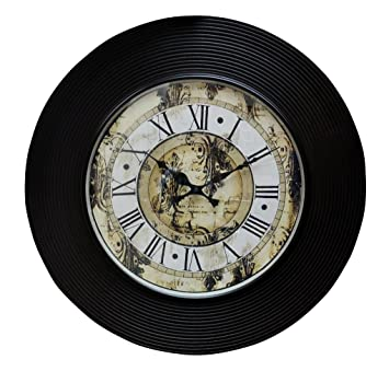 Buy Room Decorative Round Wooden Wall Clock Online at Low Prices