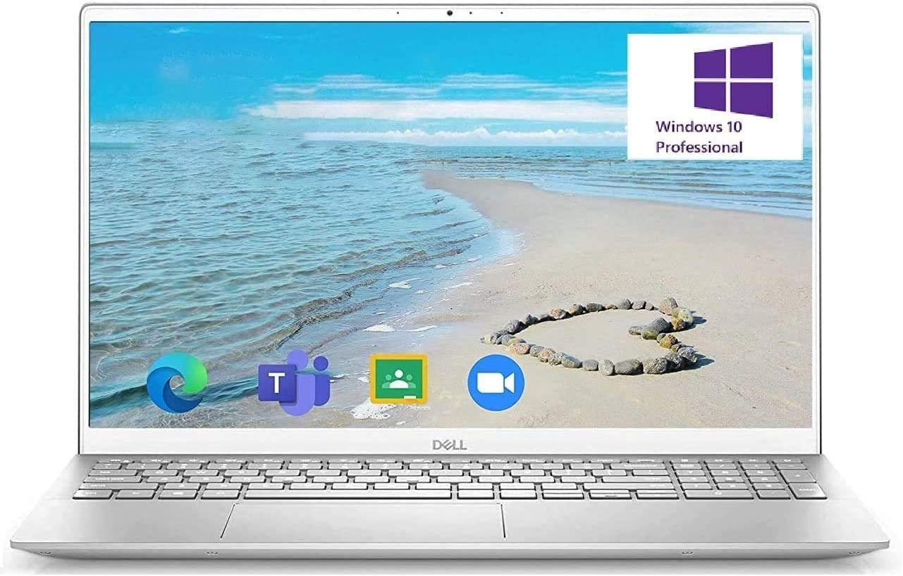 Dell Inspiron 15 5000 Business Laptop: 15.6 Inch FHD Display I7-1165G7 16GB RAM 512GB SSD, Backlit Keyboard, Fingerprint Reader, Windows 10 Pro