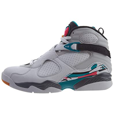 Amazon.com | Nike Air Jordan 8 Retro South Beach Basketball Shoes 305381-113 | Basketball