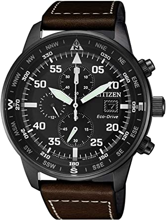 Orologio Citizen Crono Aviator Ca0695 17e Amazon It Orologi