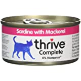 Thrive Cat Food Complete Sardine with Mackerel, Pack of 6