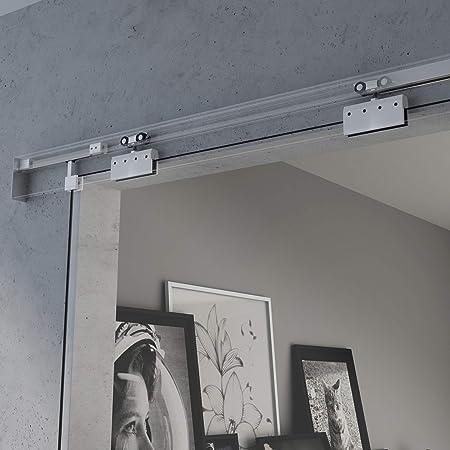 BxH: 77,5 x 205 cm Diseño Puerta Corredera de Cristal Amalfi TS20 ...