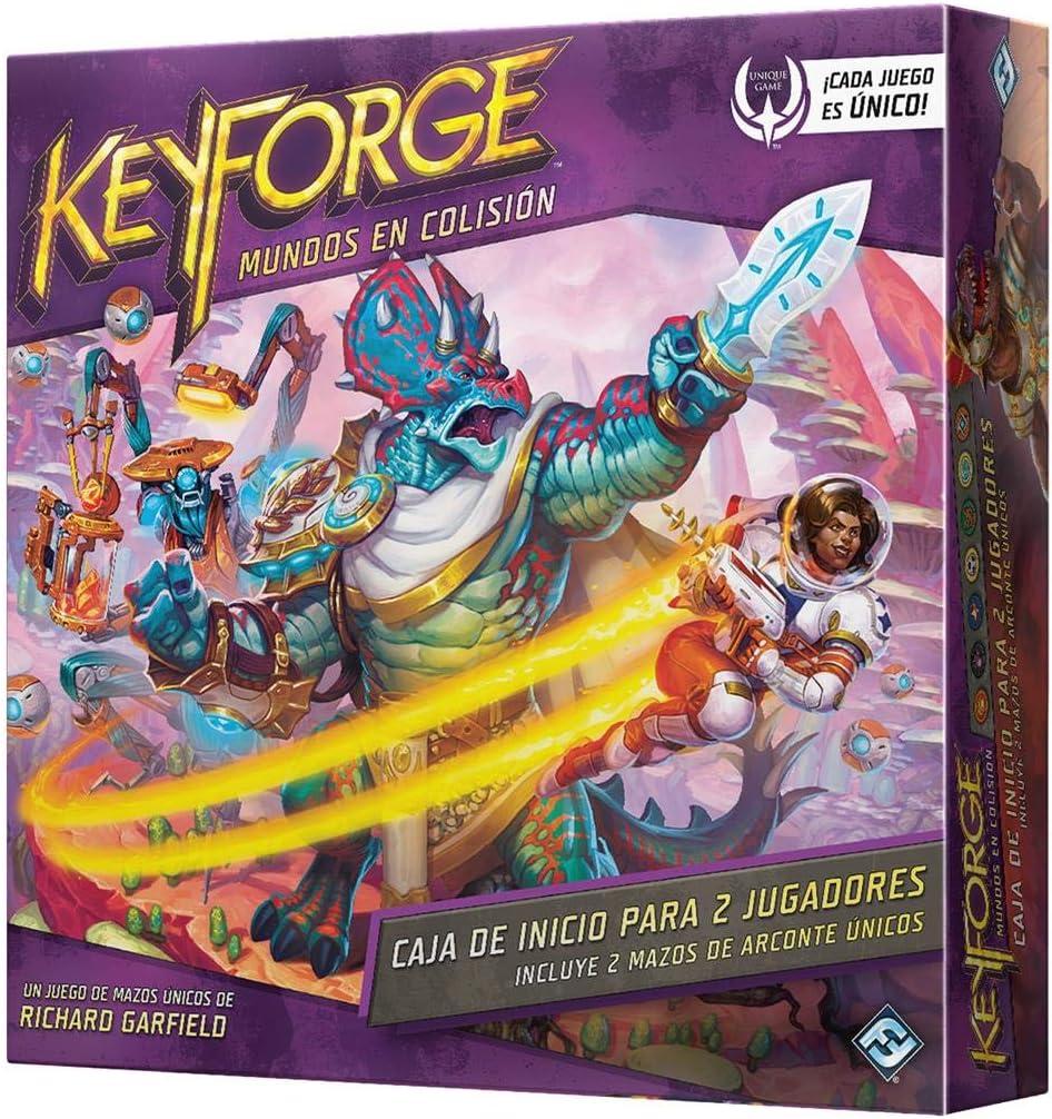 Fantasy Flight Games- Keyforge - Mundos en Colisión Caja de Inicio para 2 Jugadores, Color (KF07ES): Amazon.es: Juguetes y juegos
