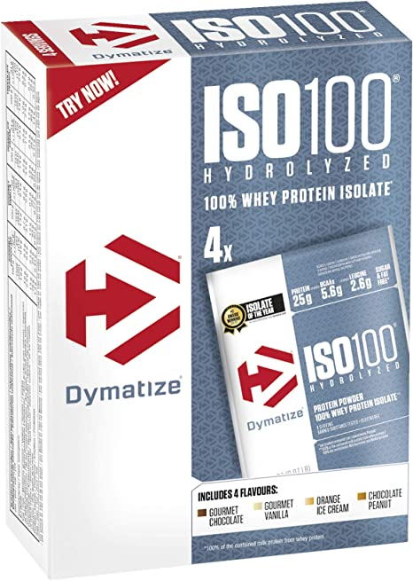 Dymatize ISO 100 Single Serve - Hidrolizado de Proteína de ...