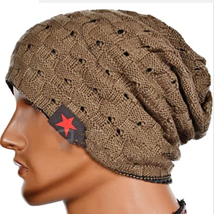 e7e24303769 Amazon.com  Iumer Winter Knit Beanie Cap Trendy Warm Oversized ...