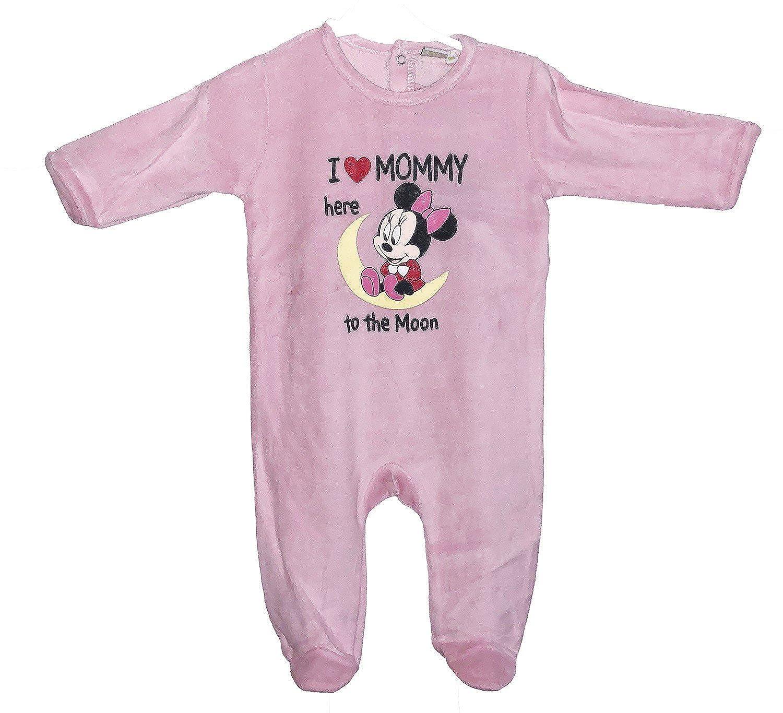 3162d19e5a93d Disney Minnie Pyjama Grenouillere Bebe Fille - Rose HQ0336-PI