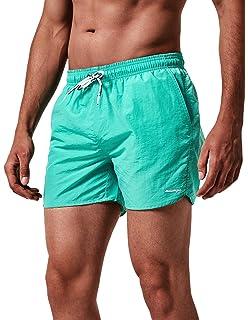 18d73c605b3 MaaMgic Homme Short de Bains Maillot de Bain Garcons Pants Court de Sport  Séchage Rapide Bien