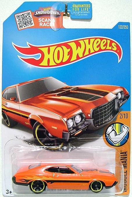 Hot Wheels  Muscle Mania  Ford Gran Torino Sport Orange