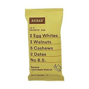 RXBAR Protein bar, Banana Chocolate Walnut, 1.83 Oz