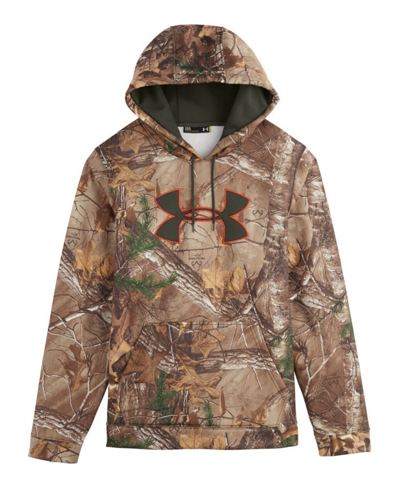 Under Armour Men's Armour Fleece Camo Big Logo Hoodie 1264916-001-MaParent