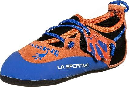 La Sportiva Stickit Zapatos de Escalada para niños: Amazon ...