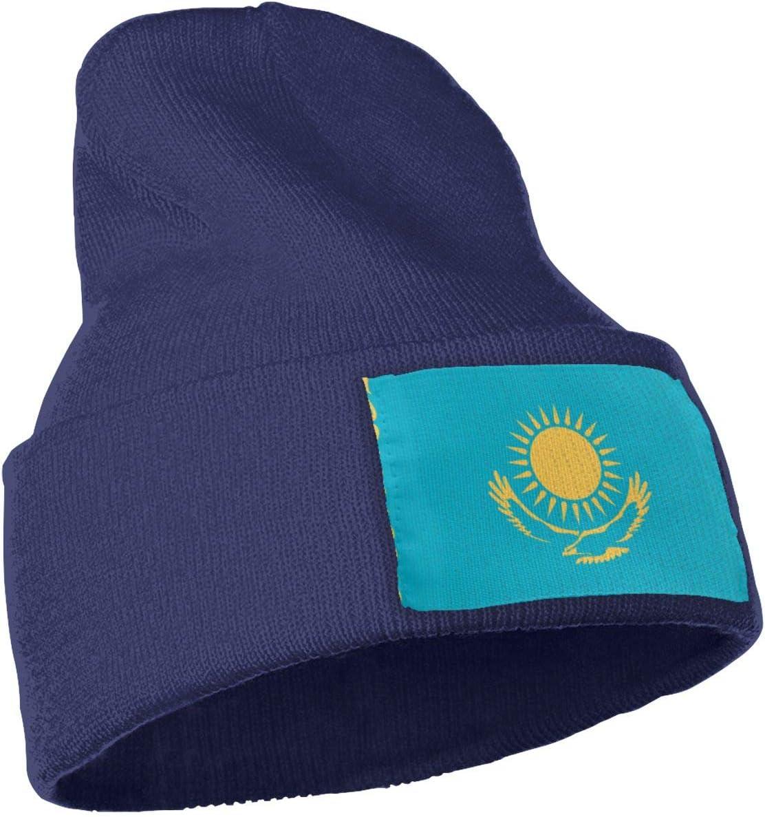 Warm /& Stylish Winter Hats Black Thick MACA Kazakhstan Unisex Slouch Beanie Hats