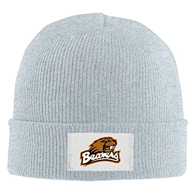 Amazon.com  Creamfly Adult Oregon State Benny Beaver Wool Watch Cap Ash  (6153465498432)  Books f578668aa51