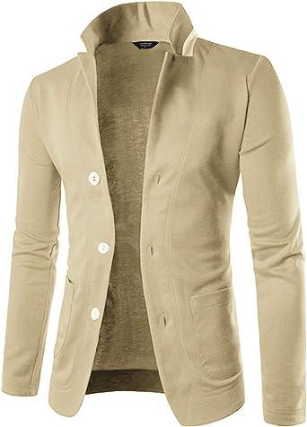 COOFANDY Mens Casual Blazer Jacket Slim Fit Sport Coats Lightweight One Button Suit Jacket