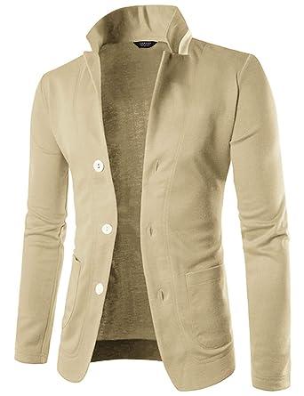 f2e55ebc COOFANDY Mens Casual Slim Fit Blazer 3 Button Suit Sport Coat Lightweight  Jacket at Amazon Men's Clothing store: