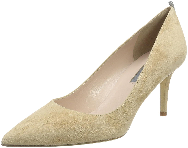 SJP by Sarah Jessica Parker Fawn 70, Zapatos de Tacón para Mujer 38 EU|Beige (Calvin Suede)