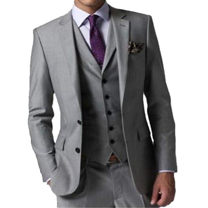 Amazon.com: MYS Men s Custom Made Padrino Esmoquin Traje ...