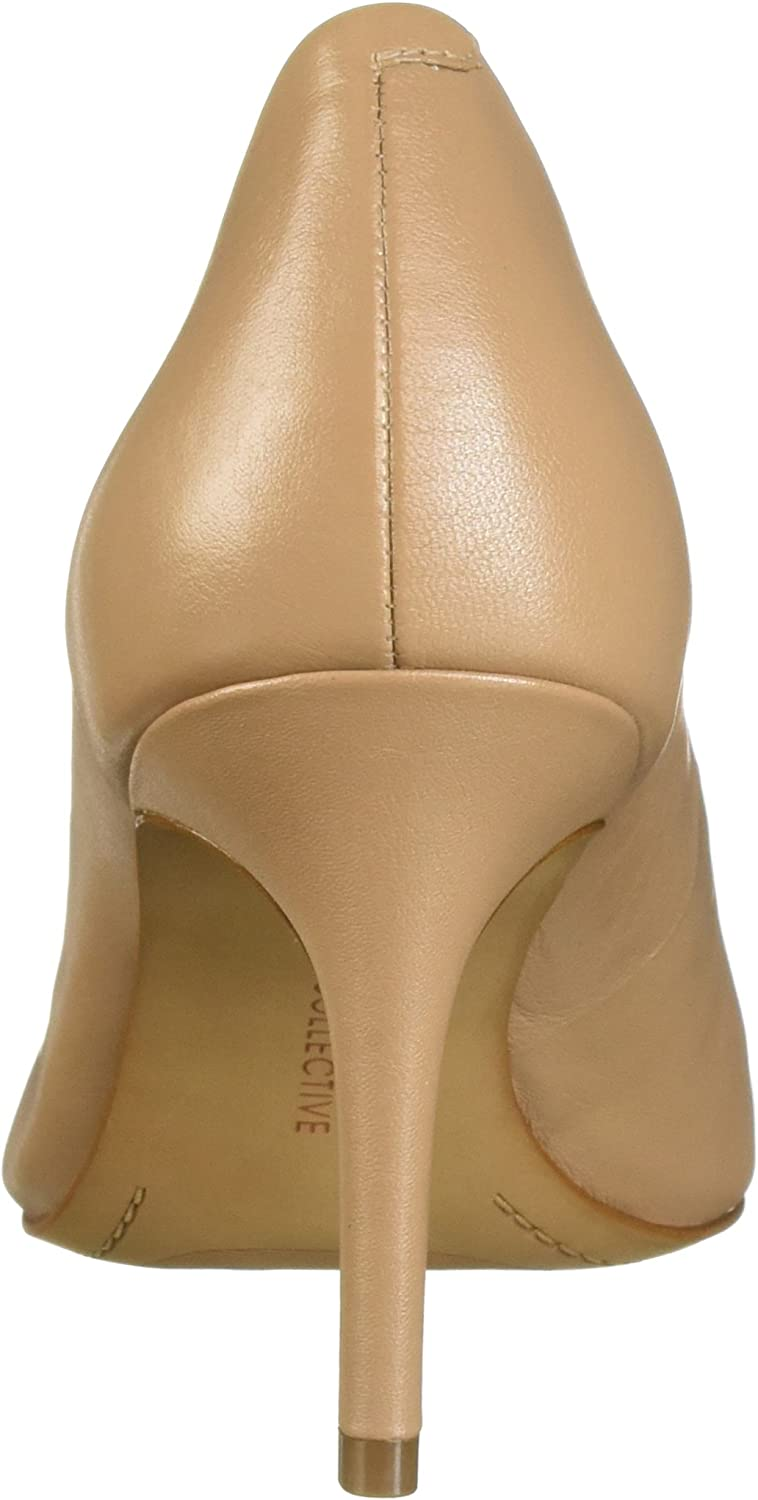Amazon Brand - 206 Collective Women's Mercer Dress Pump Nude Leather