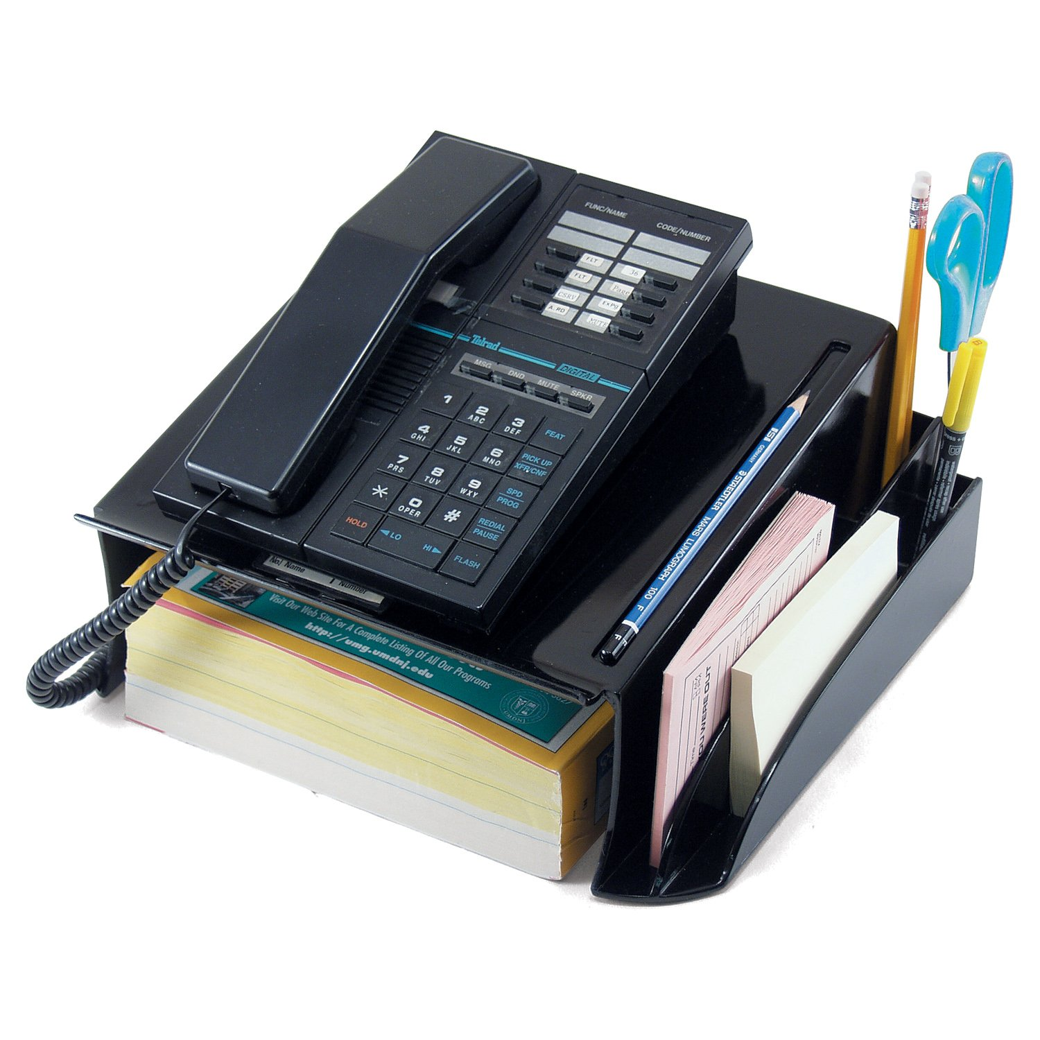 Officemate Recycled Telephone Stand, Black (26102) by Officemate