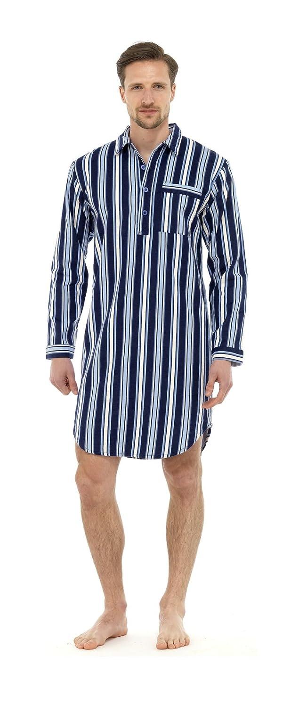 i-Smalls Chemise de Pyjama Moderne /à Rayures pour Homme