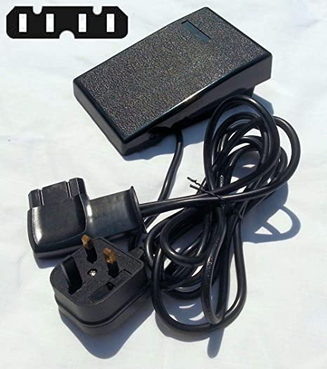 Mando de control de pedal para máquina de coser, 4 aspas en línea, compatible