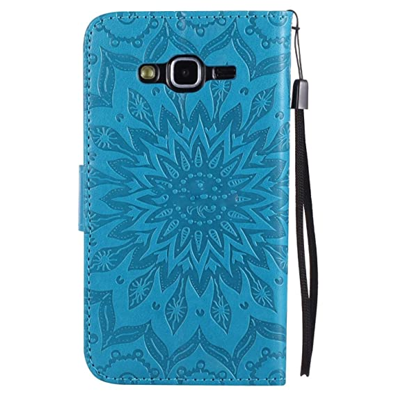 Amazon.com: Flip Case for Samsung Galaxy J5 J 5 2015 500 ...
