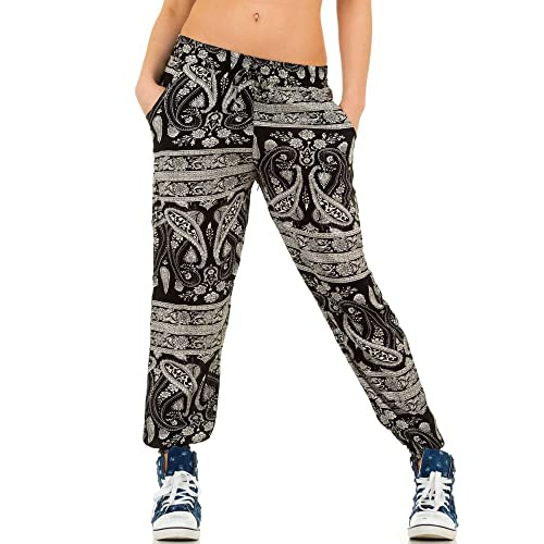 Ital-Design - Pantalón - para mujer negro 38