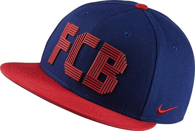 07692e902f1bd Amazon.com  Nike FCB U NK Cap Squad Mens Baseball-caps 830448-421 ...