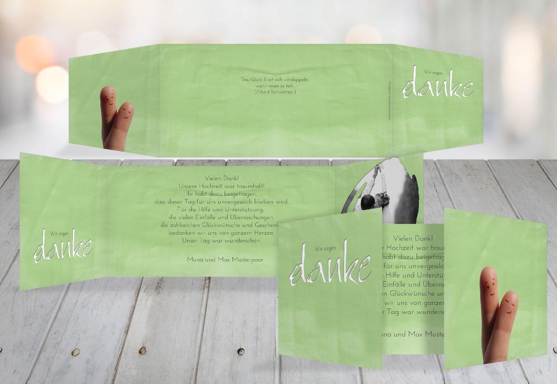 Kartenparadies Danksagung für Hochzeitsgeschenke Hochzeit Dankeskarte Fingerpaar, hochwertige Danksagungskarte Hochzeitsglückwünsche inklusive Umschläge   10 Karten - (Format  215x105 mm) Farbe  HellRosa B01N9U45X5   Sehr gute Qualität