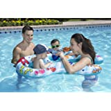 Poolmaster Mommy & US Swimming Pool Baby Rider, 2 Child, Multicolor