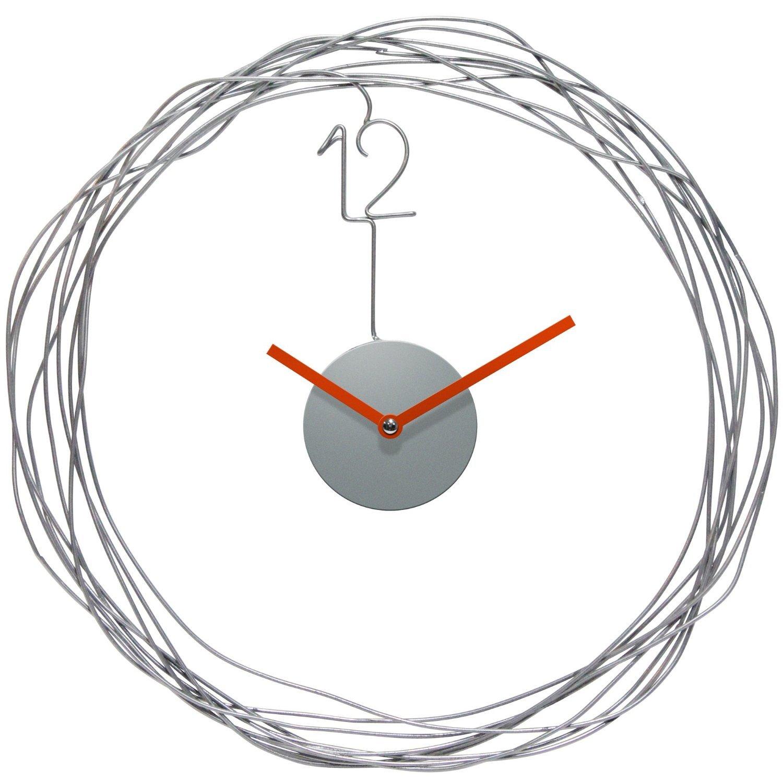 Infinity Instruments Wire Transfer Wall Clock ワイヤートランスファー壁掛け時計【並行輸入】 B00JRCERJC