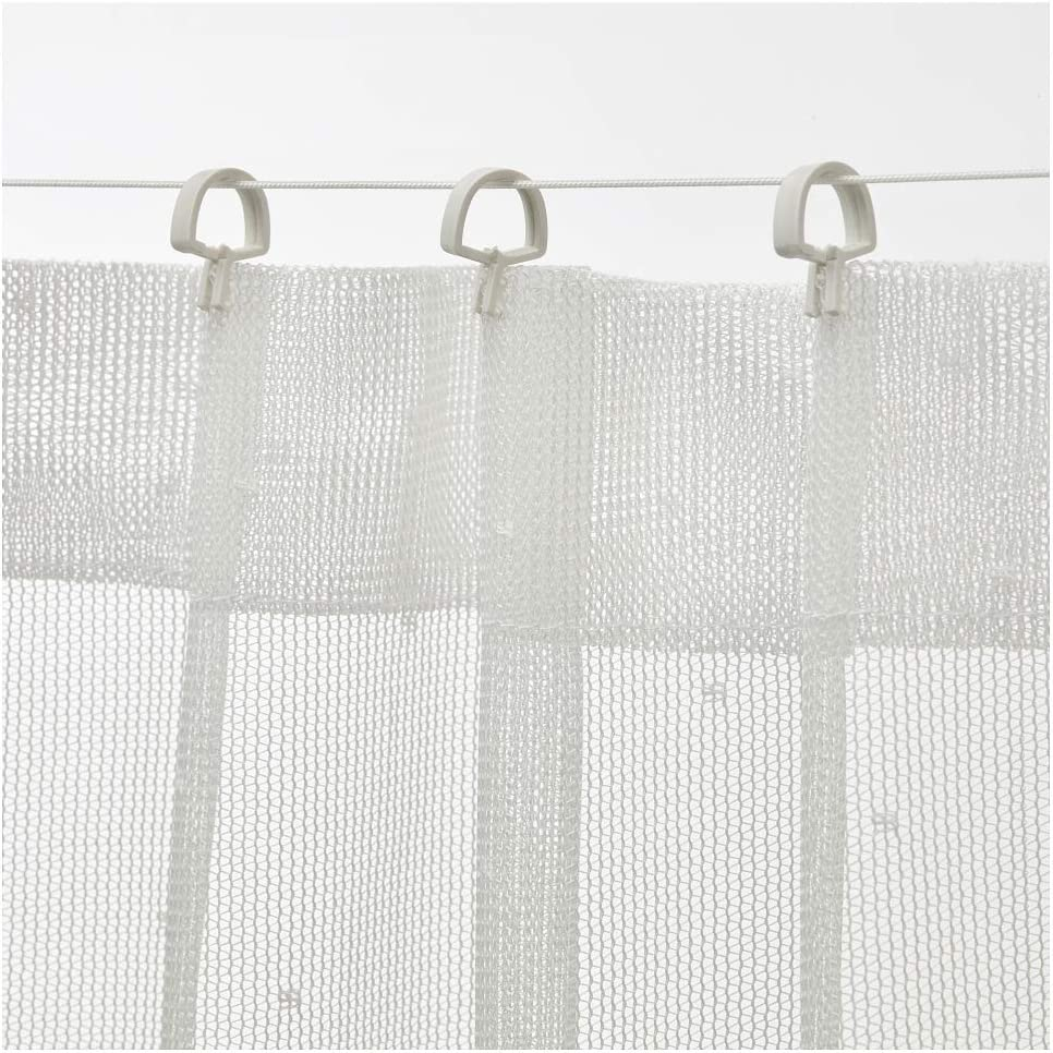 "IKEA Forsynt Curtain Wire White Size 79/"""