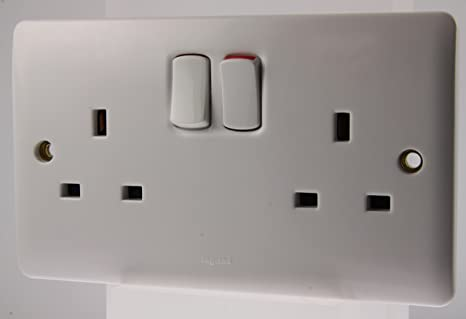 LEGRAND 730076 TWIN SWITCH SOCKET OUTLET 13A SP