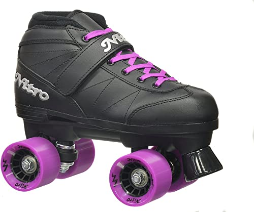 Epic Skates Super Nitro Purple Quad Speed Skates