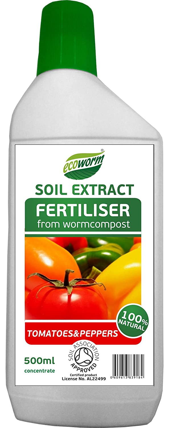 Ecoworm 0.5L Soil Extract for Tomatoes/Peppers Ecoworm Limited