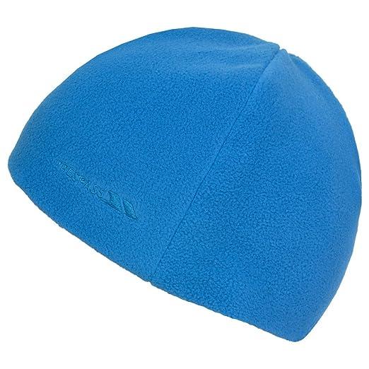 b9dc79e8004 Amazon.com  Trespass Childrens Kids Brim Fleece Beanie Hat (5 7 ...