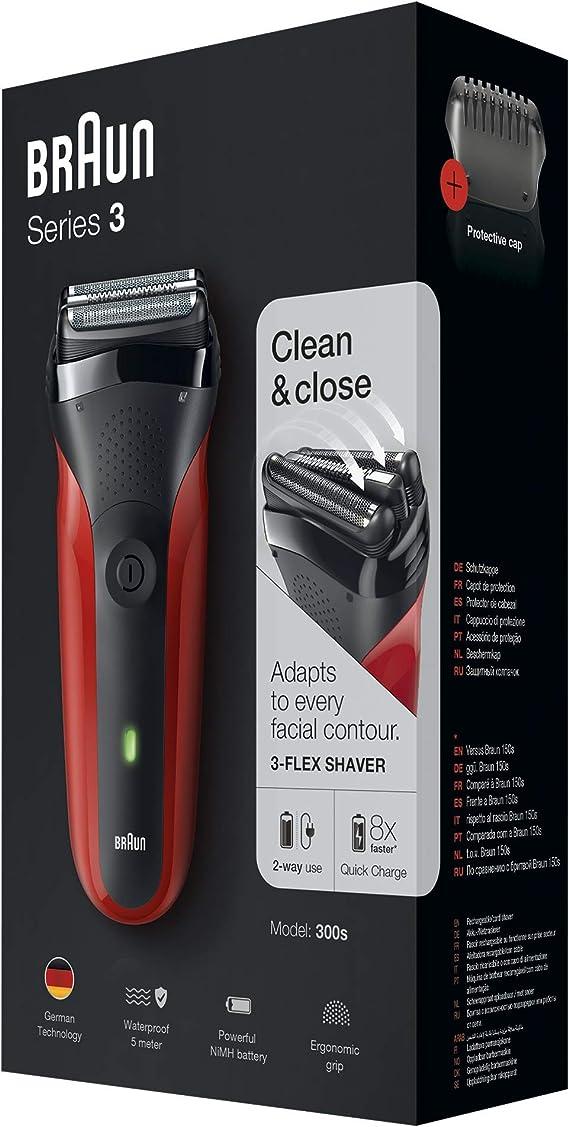 Braun 300S - Afeitadora electrica: Braun: Amazon.es: Salud y cuidado personal