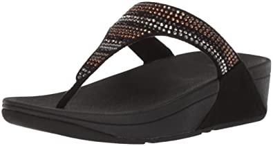 22c39d154 FitFlop Women s Strobe Luxe Toe-Thong Sandals