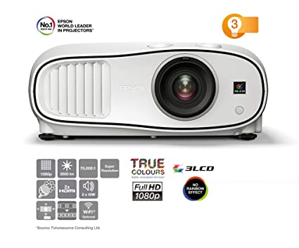 Epson EH-TW6700 Video - Proyector (3000 lúmenes ANSI, 3LCD, 1080p ...