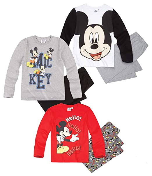 Mickey Mouse - Pijama dos piezas - para niño Multicolor 8 años : Amazon.es: Ropa y accesorios