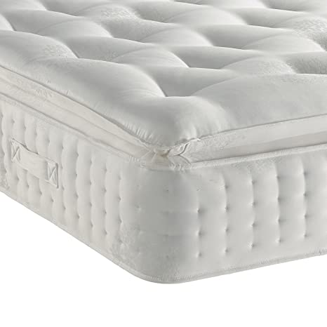 Sleep Factory Limited 3000 Organic Pillow Top Mattress Size 5ft Uk