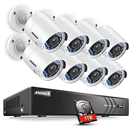 [nuevo lanzamiento] Annke 8 ch 1080 P HD cámara de seguridad CCTV DVR/