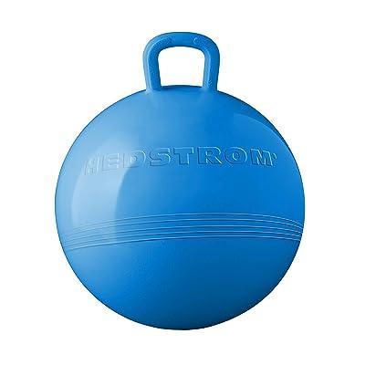 "Hedstrom Blue 15"" Hopper Ball: Toys & Games"