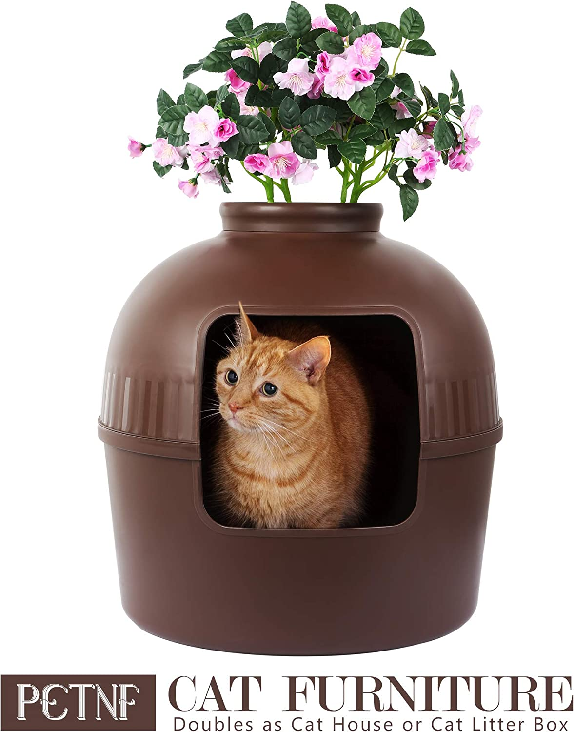 Hidden Litter Box Cat House