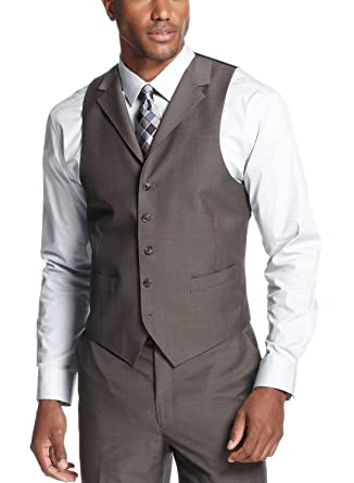Amazon.com: Sean John Mens Pindot traje de muesca cuello ...