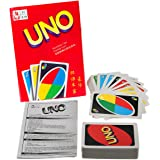 Fashion365 NEW UNO Standard 108 English Fun Cards Game with Environmental protection Wrapped for Number One Family Fun