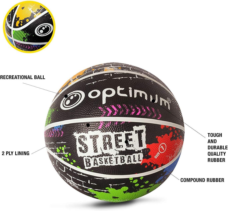 OPTIMUM Street Bal/ón de Baloncesto