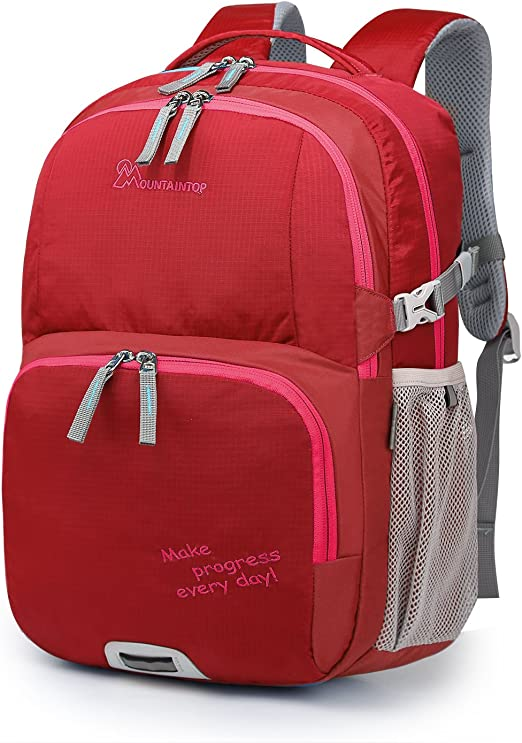 Mountaintop Kids School Backpacks Elementary School Bookbag for Boys Girls