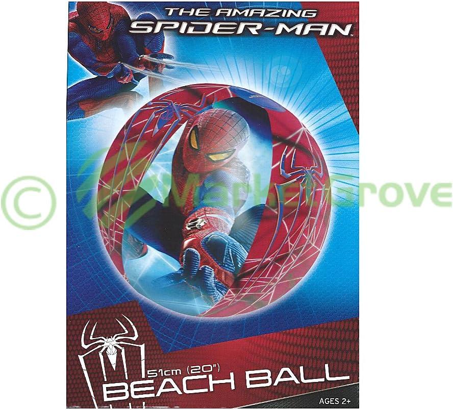 El Asombroso Spiderman pelota de playa: Amazon.es: Juguetes y juegos